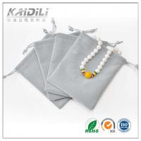 Wholesale Small Cotton Drawstring Gift Bags Screen Printing Surface For Jewelry Packaging from china suppliers
