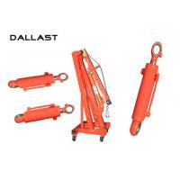 Wholesale Hoist Mechanism Tie Rod Chromed Hydraulic Lift Cylinder Double Acting from china suppliers
