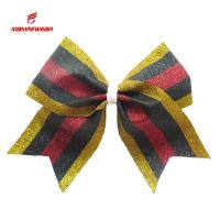 China Beautiful Cheer Dance Clothes And Accessories Ponytail Bows Decoration Used on sale