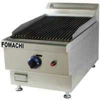 China Gas Lava Rock Grill Table Top Stainless Steel Body  LPG Enegy Source Gas Grill FMX-WE400 on sale