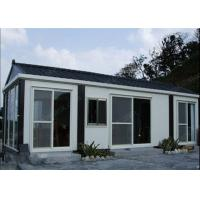 Buy cheap Modern Affordable Prefabricated Panelized Factory Modular Steel Homes With 50m² from wholesalers