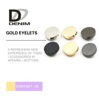Quality Fashion Gold & Gunmetal Shank Buttons • Metal Buttons • Clothing Buttons • Sewing Buttons • Synthetic Buttons for sale