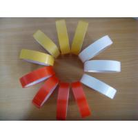 China Custom white / brown / red release liner PET double 2 sided self acrylic adhesive tape on sale