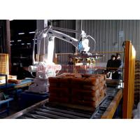 Wholesale High Strength Automatic Stacking Machine , Fast Packing Robotic Bag Palletizer from china suppliers