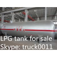 Quality high safety factory direct sale 12tons bulk surface LPG gas storage tank, ASME standard propane gas storage tank for sale