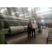 Wholesale Stabilization Capability Gabion Making Machine , Wire Net Making Machine Working Smoothly from china suppliers