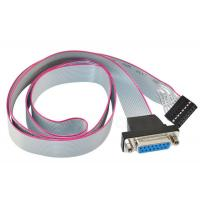 Low Contact Resistance Flat Ribbon Cable 15 PIN Female To 16P Header PCB Motherboard