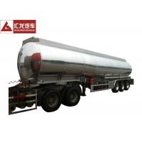 """Wholesale ADR Standard Fuel Tank Trailer Polished 4"""" Seamless Steel Tube Air Bag Suspension from china suppliers"""