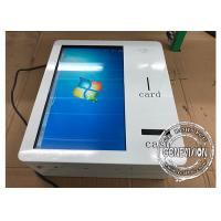 Wholesale 21.5 Inch Wall Mount Smart IR Touchscreen Self Service Machine With Cash Receiver from china suppliers
