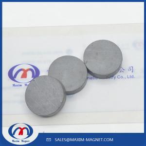 China Ceramic Round Magnets Y30/Y35 grade on sale