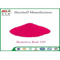 Wholesale Pure Red Clothes Dye C I Red 195 Reactive Red Wbe Powder Dye For Clothes from china suppliers