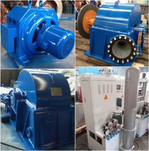 China Turgo Water Turbine  Hydroelectric Turbine Hydro Generator 70kW 500r / Min on sale