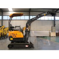 Buy cheap Ce 1.7T Mini Crawler Digger Excavator Farm Garden Machine no-tail Yanmar 370 13 from wholesalers