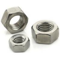 Wholesale AMSE Hex Head Stainless Steel Hex Nut A2 - 70 Cold Forging / Hot Forging Process from china suppliers