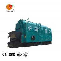 Wholesale Three Return Biomass Steam Boiler / Wood Fired Industrial Boilers Alcohol Distillation Usage from china suppliers