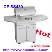 Professional Gas BBQ Grill / China Wholesale Stainless Steel 4 Burner Gas Grill