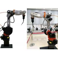 10kg Payload Robotic Welding Machine , Automated Welding Systems Small Footprint