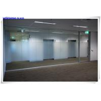 Buy cheap Tempered opaque translucent frosted tempered satin sandblasted etched glass from Wholesalers