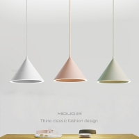 China Halo Hanging 12w 18w Modern Pendant Light For Dinning Room on sale