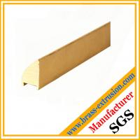 copper sanitary solid Brass bathroom parts extrusion profiles sections