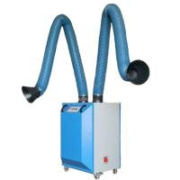 Wholesale Gas disposal welding extractor 160mm PVC coated glass fiber ducting from china suppliers