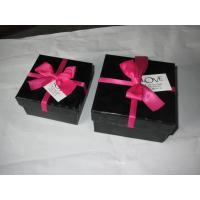 Wholesale Black 1000gm Grey Board Jewellery Packaging Boxes For Girls Cover Lamination from china suppliers