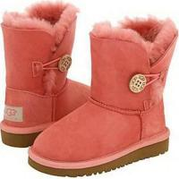 Kids UGG Bailey Button 5991 Chestnut Boots