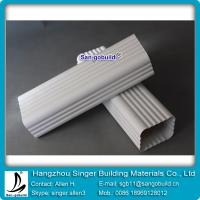 Wholesale 5.2 inch pvc rain gutter downspout pipe from china suppliers