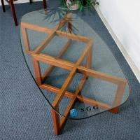 China Excellence quality Glass Dining Table top on sale