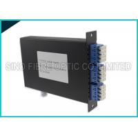 Wholesale 4 Channels Fiber Optic Simplex Directional CWDM DEMUX LGX Cassette from china suppliers