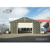 Wholesale Sliding Door Aluminum Frame Helicopter Hangar , Temporary Private Jet Hangar from china suppliers