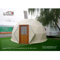 Wholesale Flame Retardant Geodesic Dome Hotel Catering Tent Wind Loading 100km / Hour from china suppliers