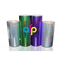 Wholesale BOPP Laser Holographic Film For Lamination Machine 180mm - 1300mm Width from china suppliers