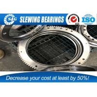 Buy cheap Custom Chrome Steel Gcr15 Excavator Slew Ring / Case Swing Circle from wholesalers