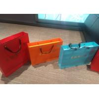 Wholesale Fashion Colored Paper Gift Bags With Handles Customized Size And Color from china suppliers