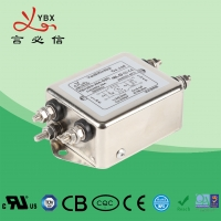 Wholesale Low Pass 3A Wire AC RFI Power Line Filter 120V 250V Customized Service from china suppliers