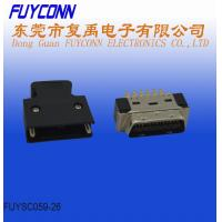 Buy cheap ABS Housing 26 Pin SCSI Connector 1.27mm Pitch Brass Gold Plated from wholesalers