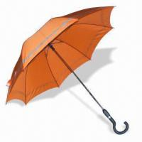 Wholesale Straight Auto Open and Close Umbrella with AO/AC Marking, Measures 23-inch x 16 Ribs from china suppliers