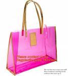 Wholesale moisture proof eva school bag pu shoulder bag flat handle plastic bag, eve handle bags, pvc handle bags, striated bag wi from china suppliers