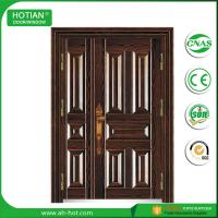 Wholesale China Factory TOP Sale One Single and Half Steel Security Door, Metal Door, Iron Entrance Door from china suppliers