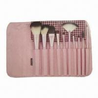 Wholesale Makeup Brush Set with Wooden Handle from china suppliers