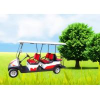 Wholesale Big Tyre 6 Seater Golf Cart , Street Legal Electric Golf Carts Ce Approved from china suppliers