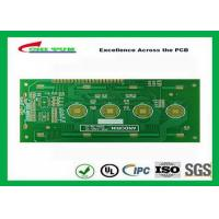 Key board PCB 2layer FR4 1.6mm surface plating gold  trace 4/4mil