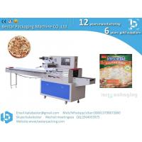 Wholesale Italian handmade pizzas seafood style pizzas horizontal straight pillow automatic packaging machine from china suppliers