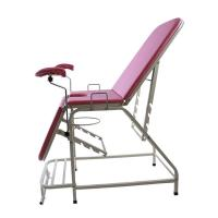 China Portable stainless steel folding gynecological examination table for sale on sale