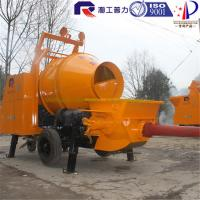 China Pully JBT40-P1 concrete pump with mixer, industrial concrete mixer, concrete mixer sale on sale