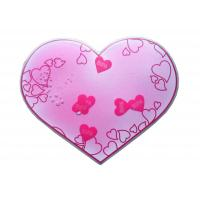 Wholesale Lovely Heart Shape Pink Liquid Mouse Pads With Floaters for Lover from china suppliers