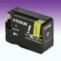 Wholesale Printer Ink Cartridges, 32mL Dye Ink, Compatible for H-932XLBK with Chip from china suppliers