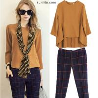 Wholesale Fashion Two-piece Suit from china suppliers