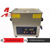 Quality 42000Hz Silver Digital Ultrasonic Cleaners High Performance Transducer for sale
